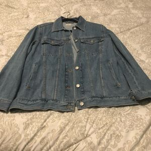 "GAP ""Oversized"" Denim Jacket"